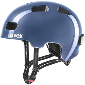 UVEX City 4 Mini Me Helmet Kids, midnight/berry